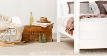 Four Poster Canopy Bed - Summer