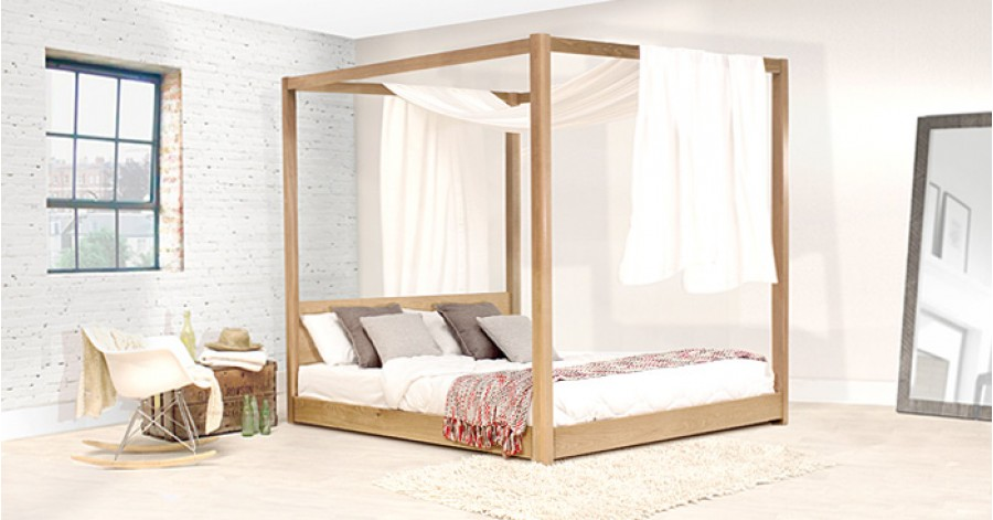 Low Four Poster Canopy Bed Get Laid Beds