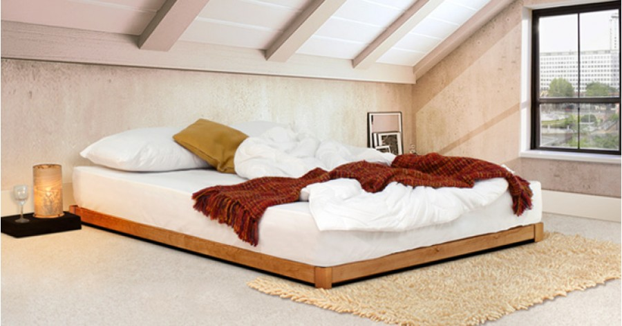Low loft bed space saving get laid beds for Space saving bed frame