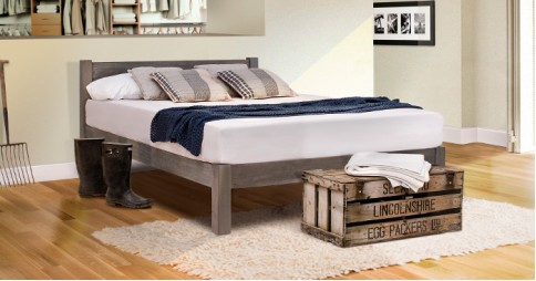 White Knight Bed (Space Saving)
