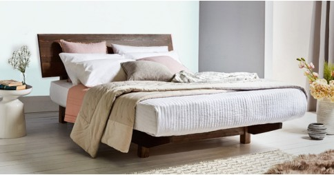 Floating Bed (With Headboard)
