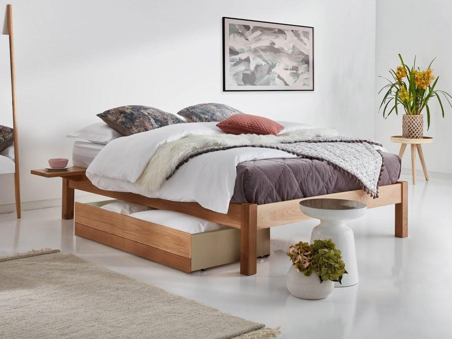Platform Bed No Headboard Get Laid Beds, Queen Bed No Headboard