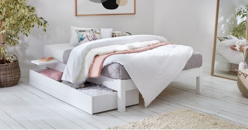 Platform Bed (Space Saving)