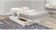 Japanese Fuji Platform Storage Bed (No Headboard)