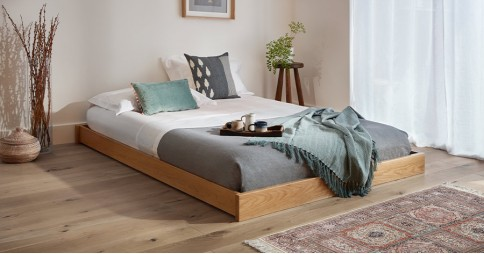 Low Enkel Platform Bed (No Headboard)