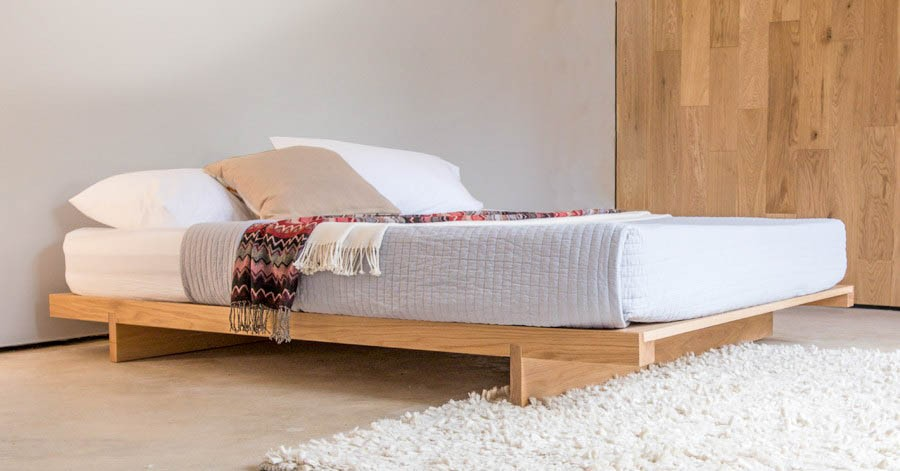 Genial Low Fuji Attic Platform Bed (No Headboard)