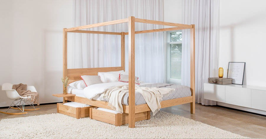 Four Poster Canopy Bed Classic Get Laid Beds