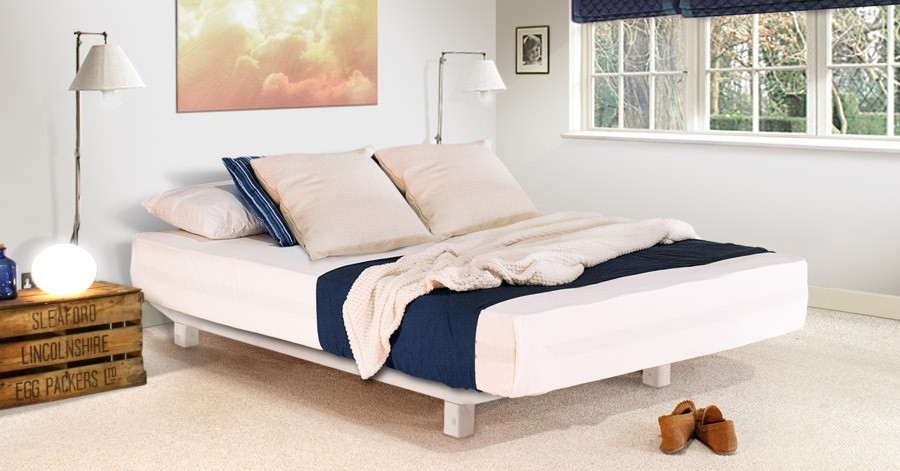 Low shoreditch platform bed space saving get laid beds for Space saving bed frame