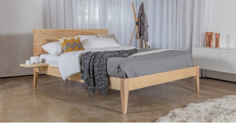 Kensington Bed (Tapered Leg Option)