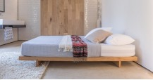 Low Fuji Attic Platform Bed (No Headboard)