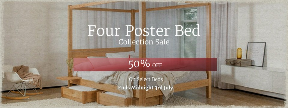 Four Poster Bed Sale