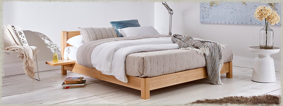 Low Oriental Bed (Space Saving)