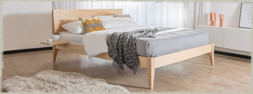Kensington Bed (Tapered Legs)