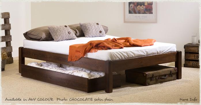 Platform Bed - Wooden Bed Frame - by Get Laid Beds | eBay