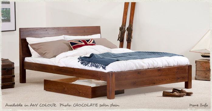 ... about King Size Chelsea Bed - Wooden Bed Frame - by Get Laid Beds