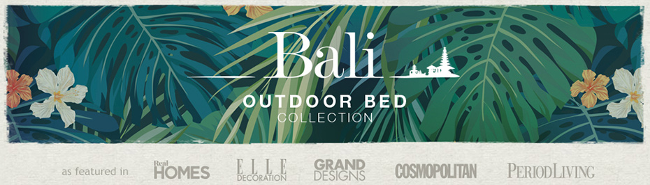 Bali Outdoor Bed Collection Main Banner